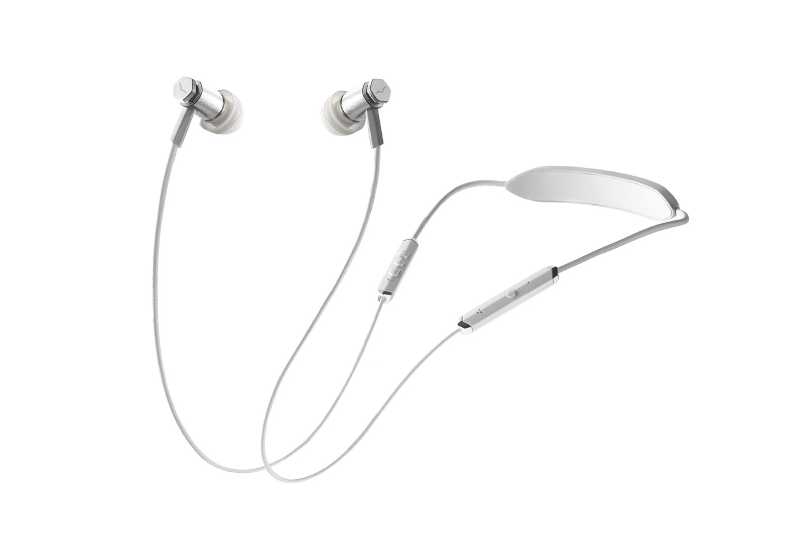 V-Moda Forza Metallo In-Ear Headphones Wireless Silver