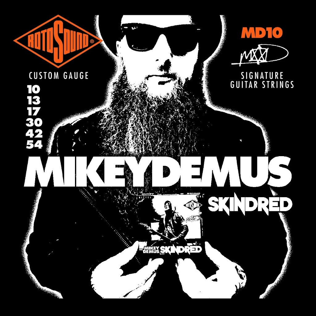 Rotosound MD10 Mikey Demus Signature Set