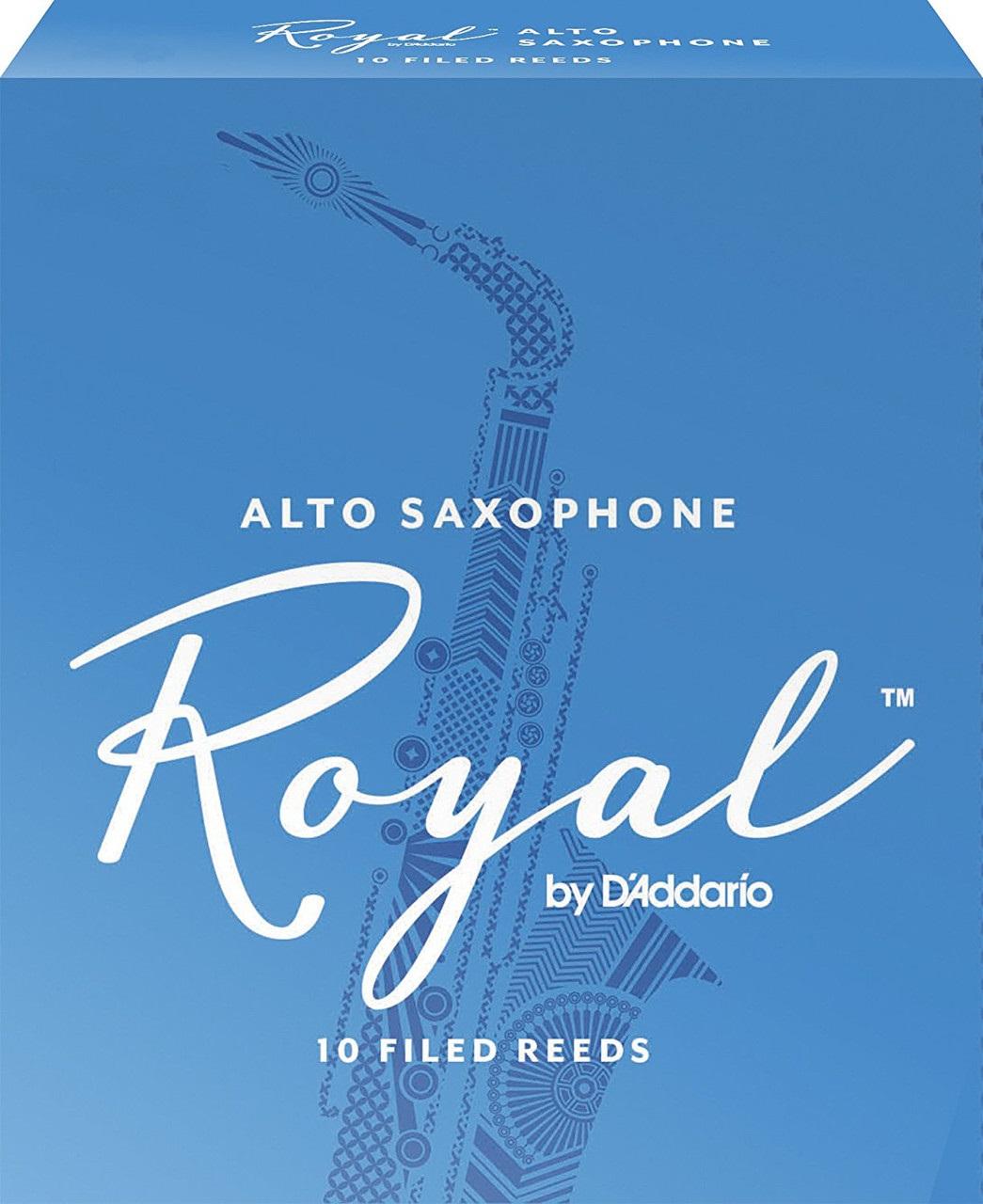 D'Addario Royal Alto Sax 1,5, 10