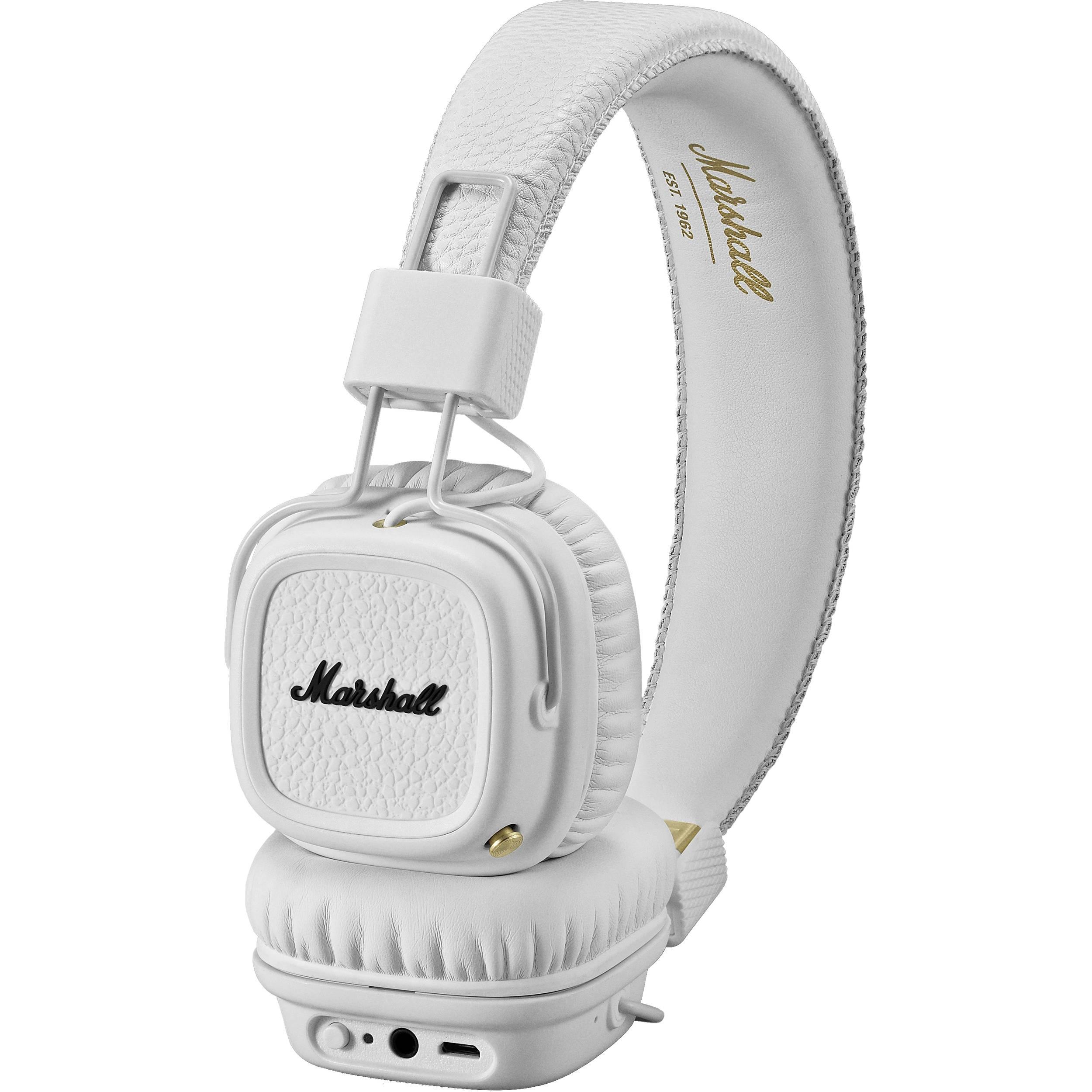 Marshall Major-II Bluetooth White