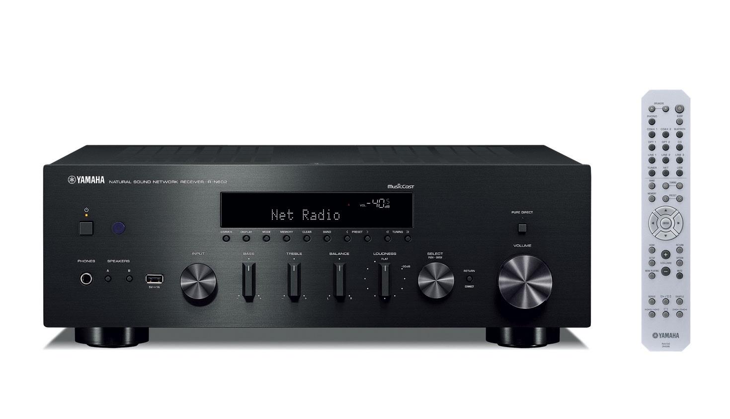 Yamaha R-N602 BLACK