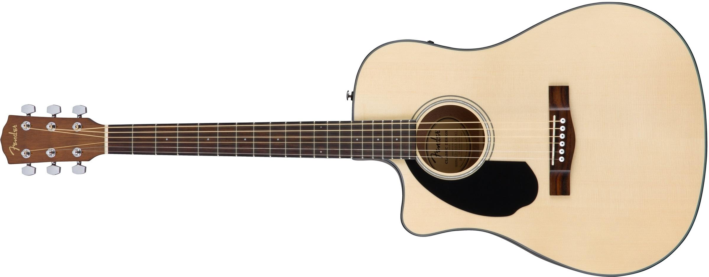 Fender CD-60SCE LH NAT