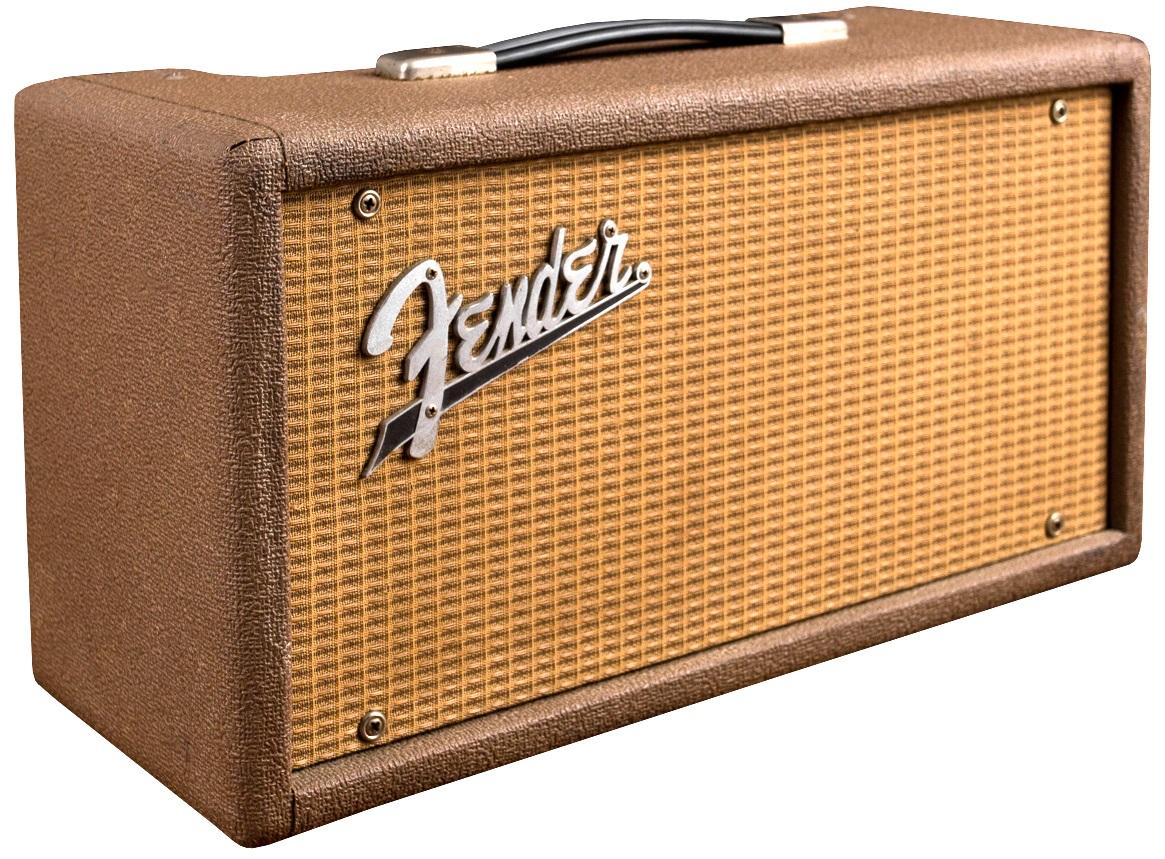 "Fender 1962 Reverb Unit ""Brownface"" vintage ne REISSUE!"