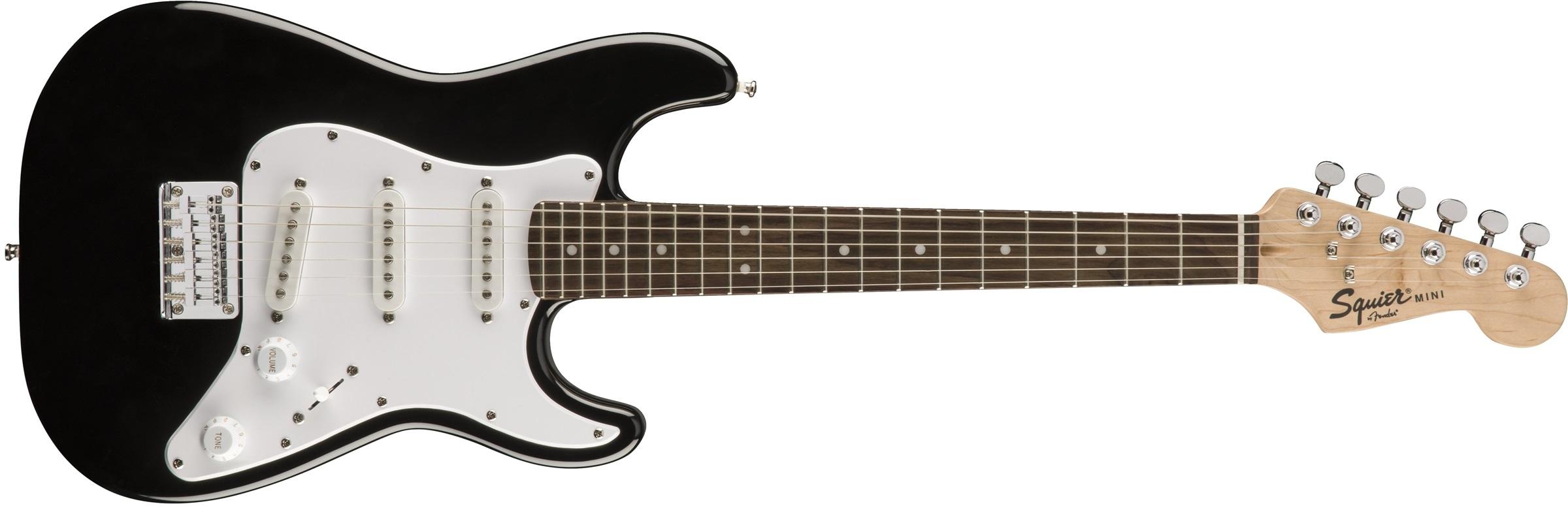 Fender Squier Mini Stratocaster RW BLK