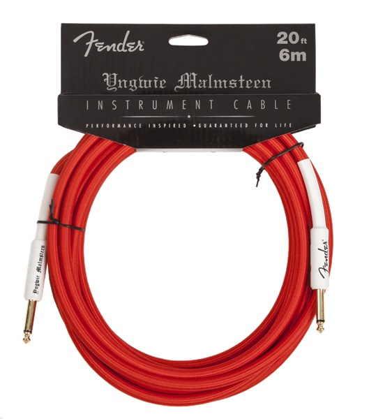 Fender 20' Yngwie Malmsteen Instrument Cable