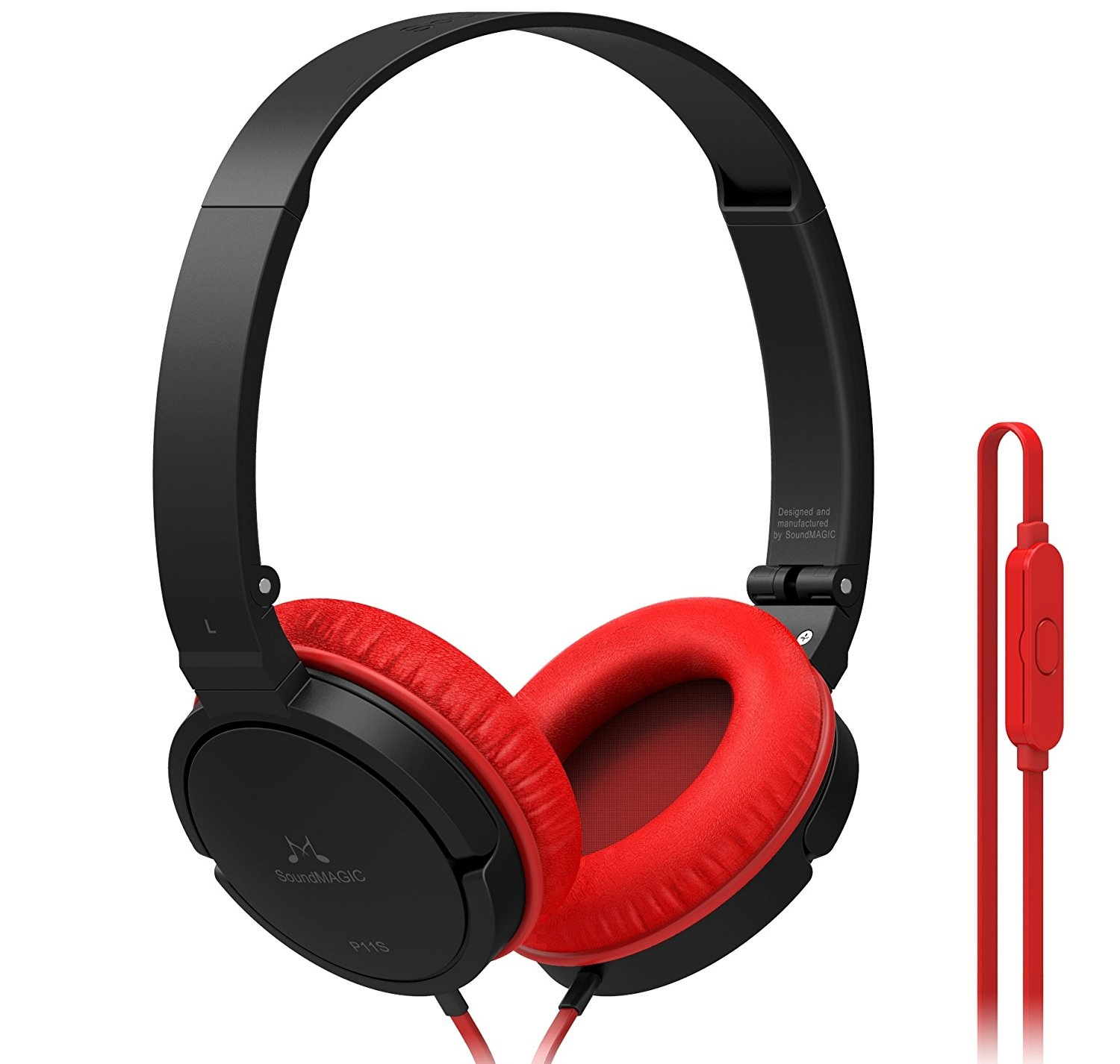 SoundMAGIC P11S Black Red