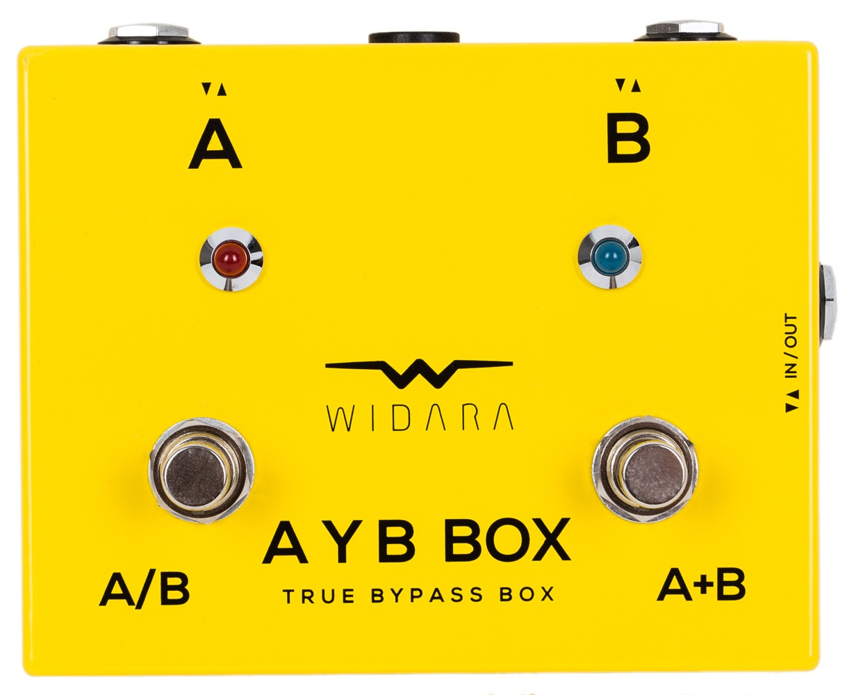 Widara AYB Box Yellow
