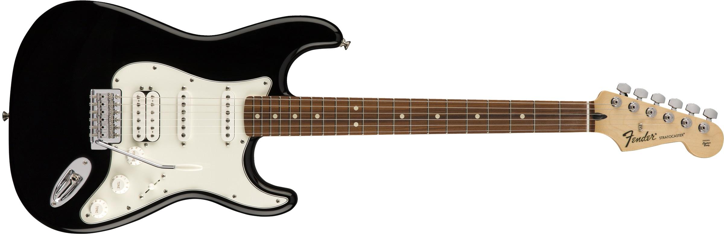 Fender Standard Stratocaster HSS PF BLK