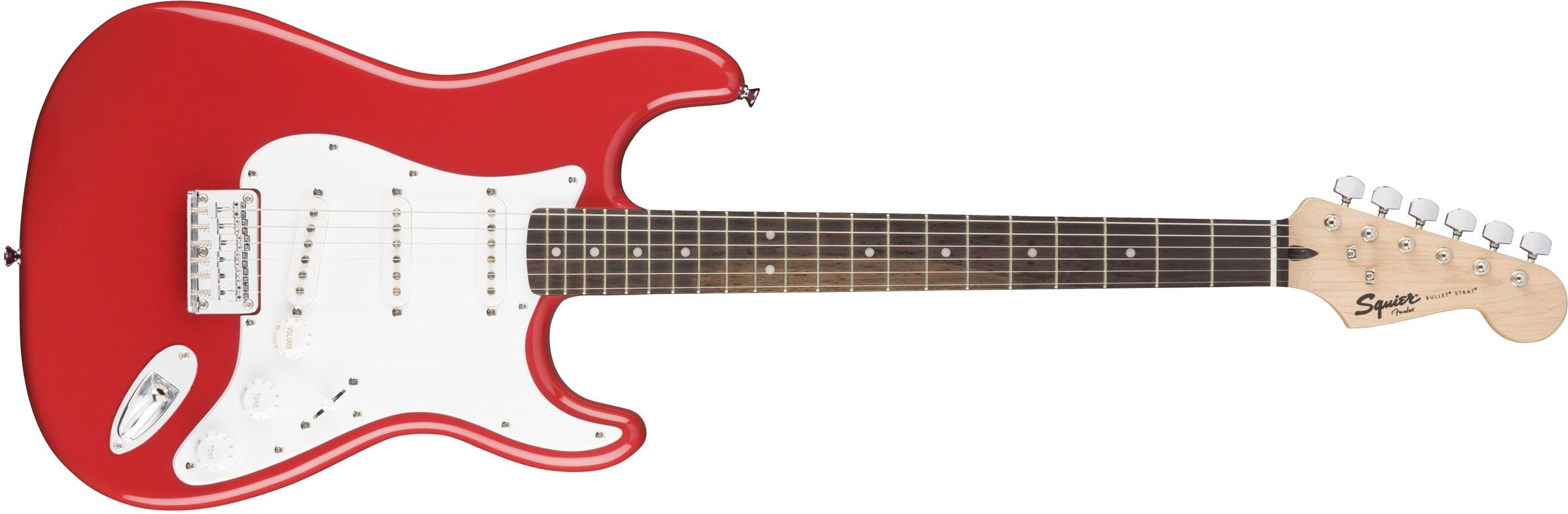 Fender Squier Bullet Strat HT HSS FRD
