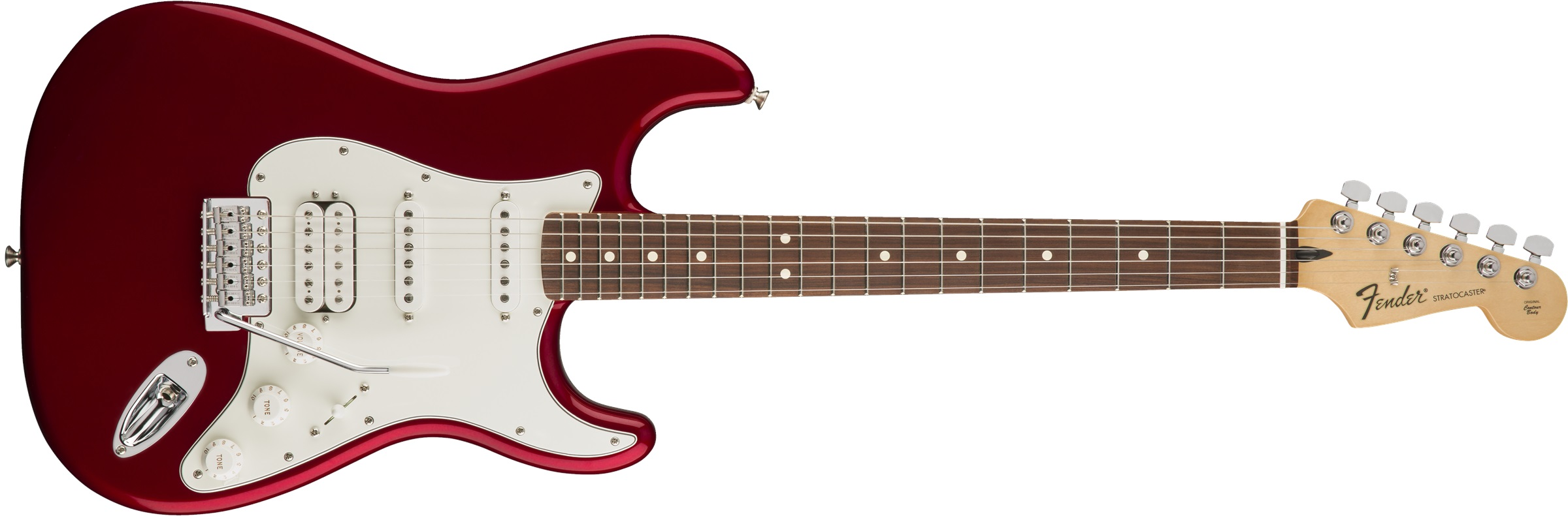 Fender Standard Stratocaster HSS PF CAR