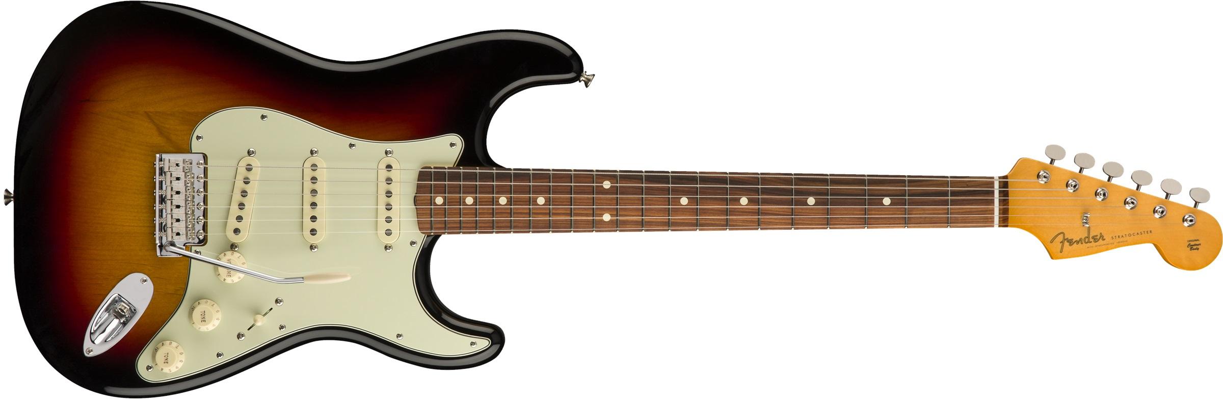 Fender 60s Stratocaster PF 3TSB Lacquer