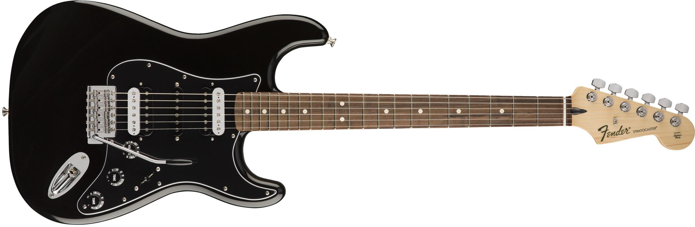 Fender Standard Stratocaster HSH PF BLK