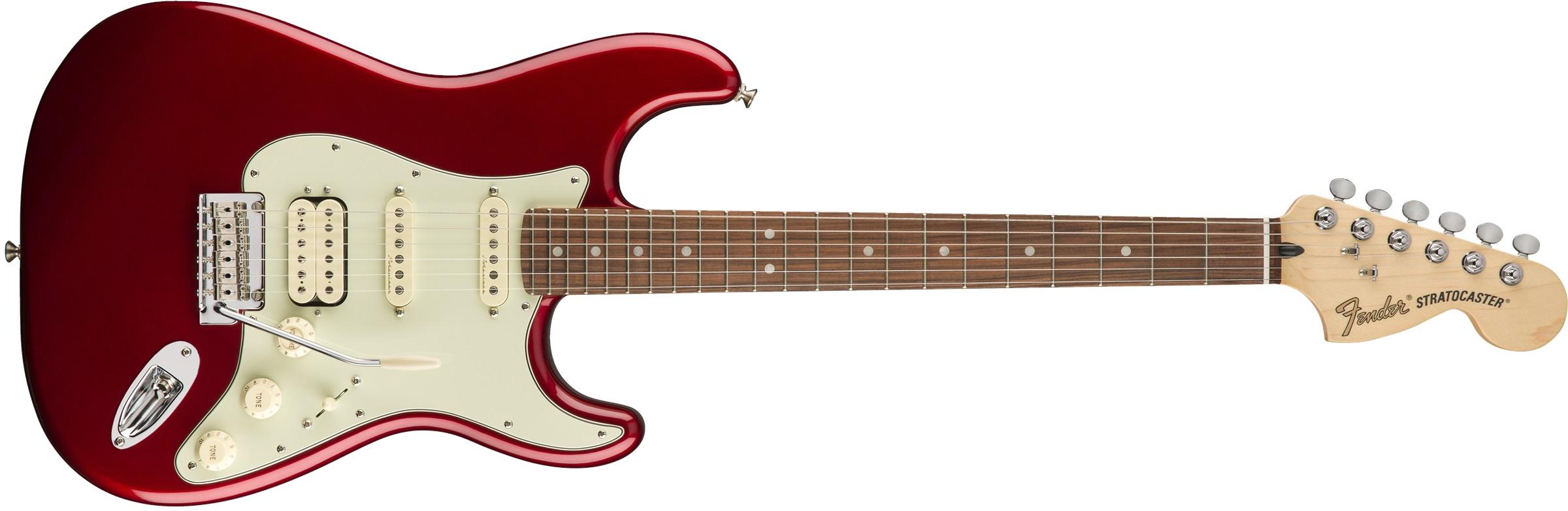 Fender Deluxe Stratocaster HSS PF CAR