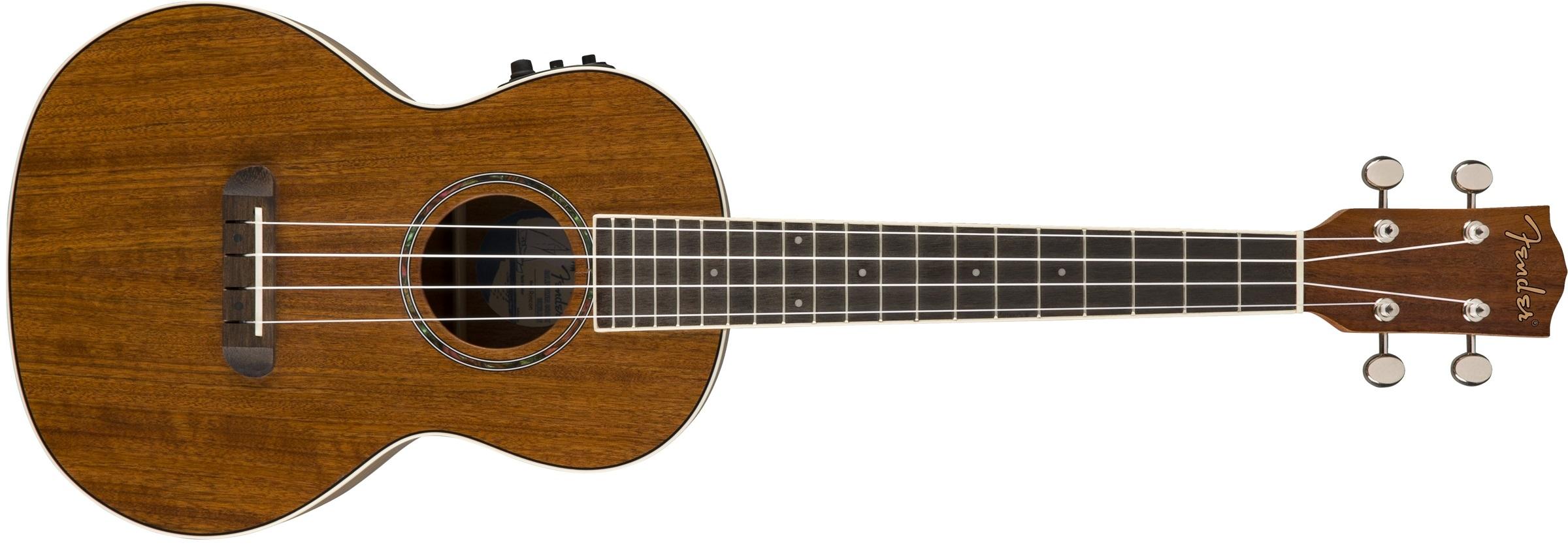 Fender Ukulele Rincon Ovangkol NAT WB