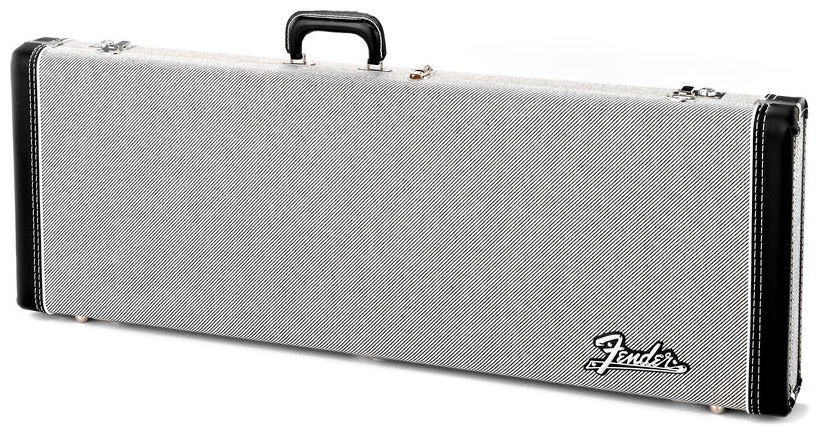 Fender Deluxe Case, Black Tweed w/ Black Interior