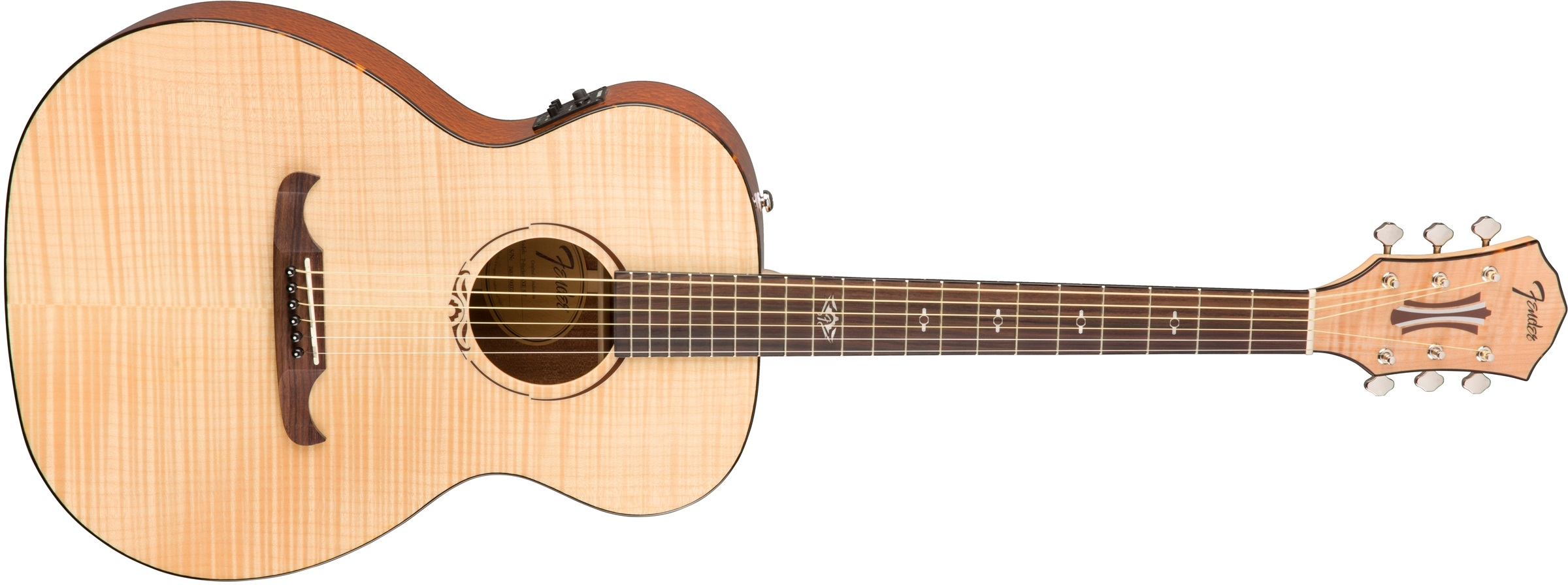 Fender T-Bucket 450-E FLM MPL NAT