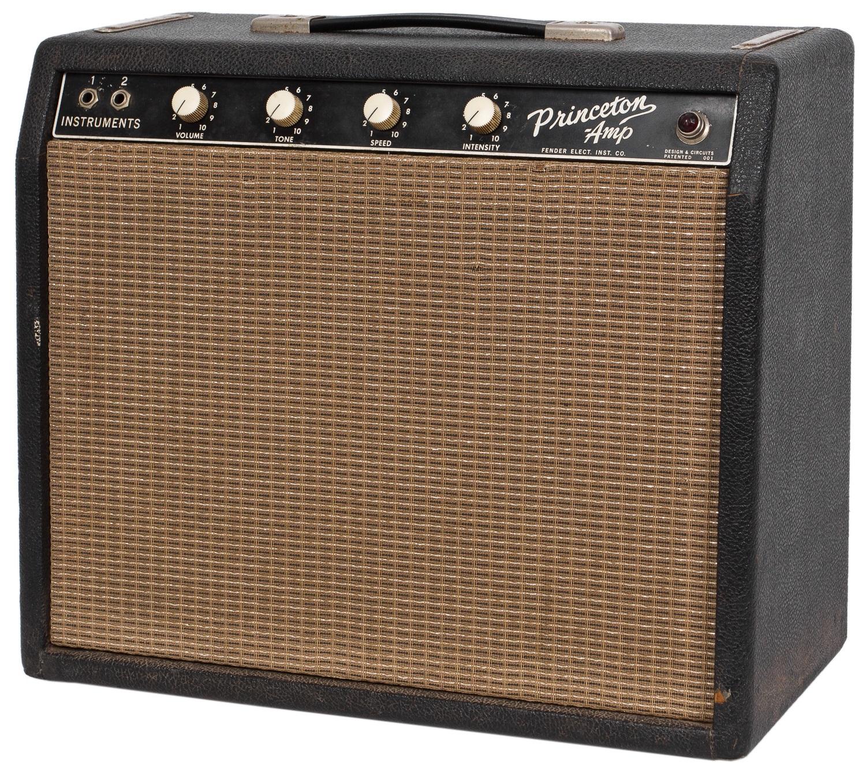 "Fender 1964 Fender Princeton Tuxedo ""Blackface"""