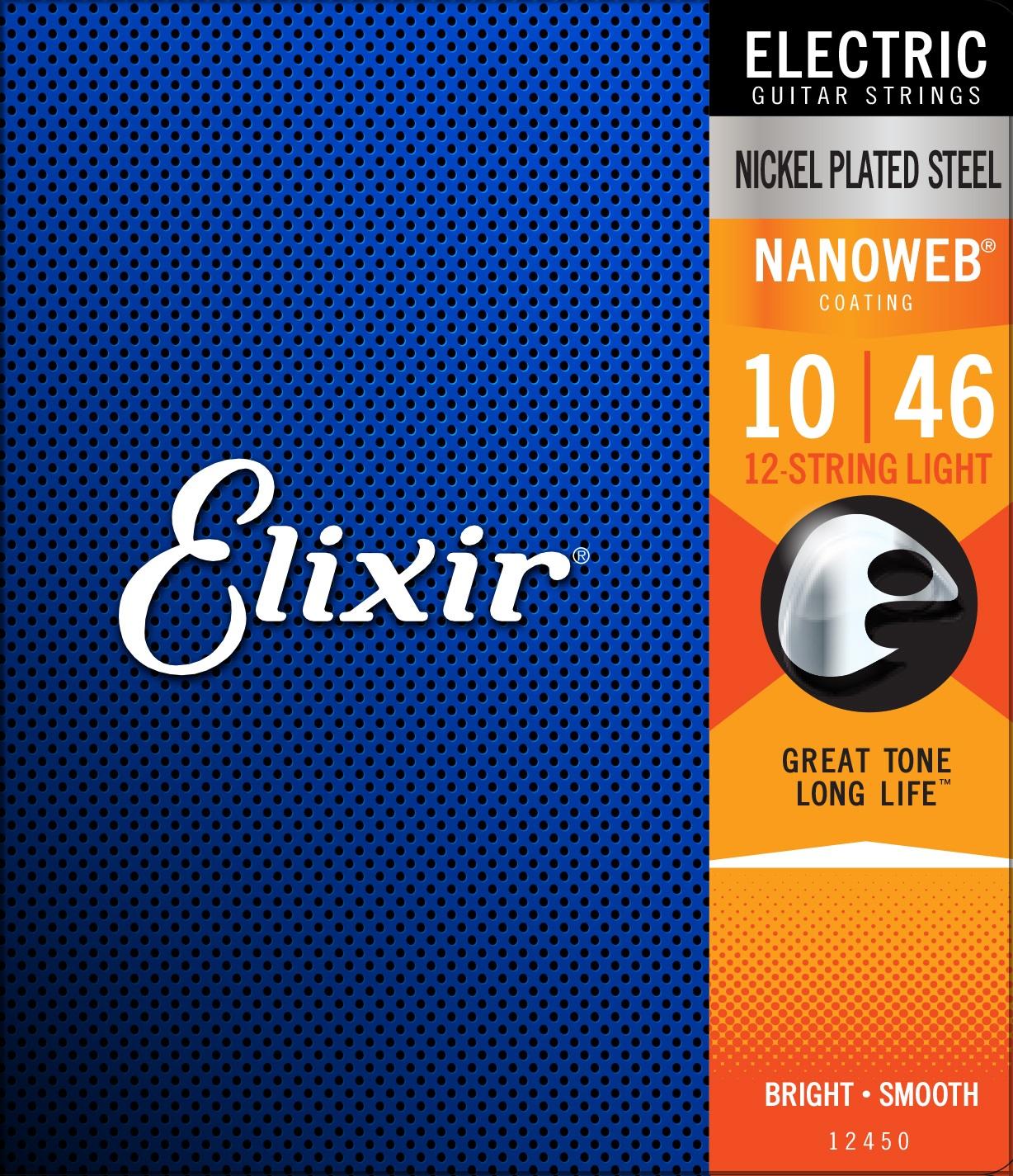 Elixir Nanoweb 12-String Light