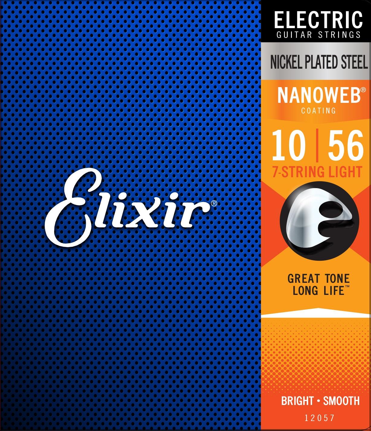 Elixir Nanoweb 7-String Light