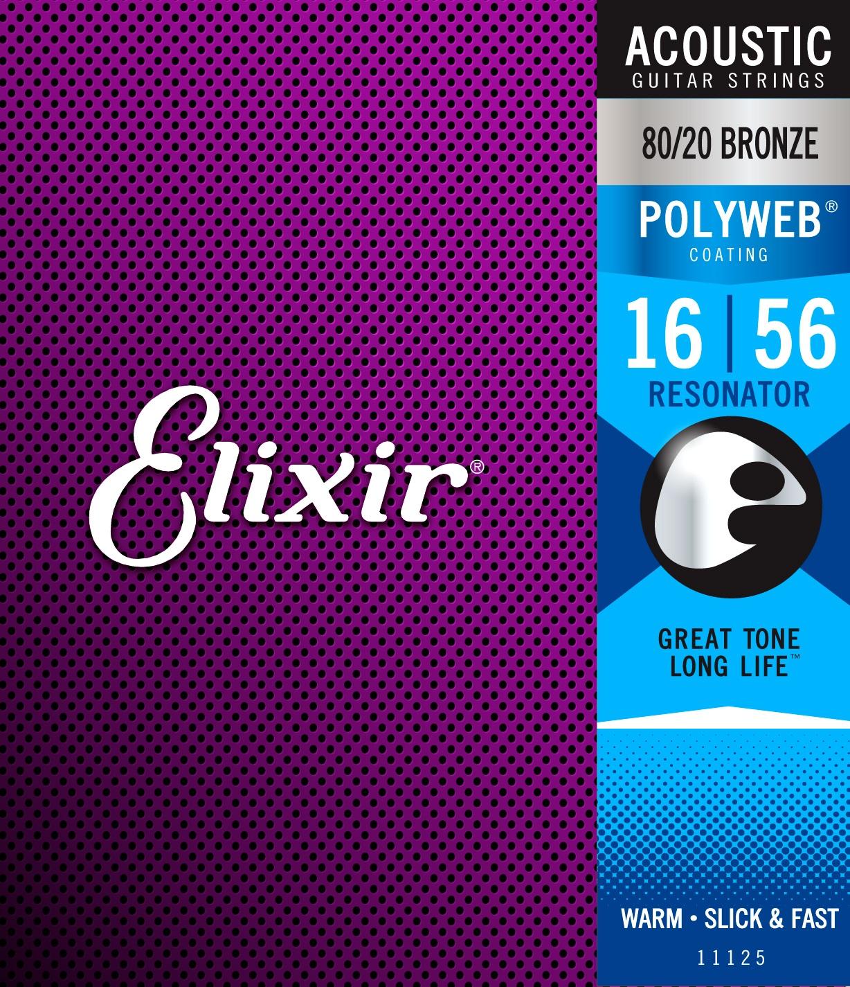 Elixir Polyweb 80/20 Bronze Resonator