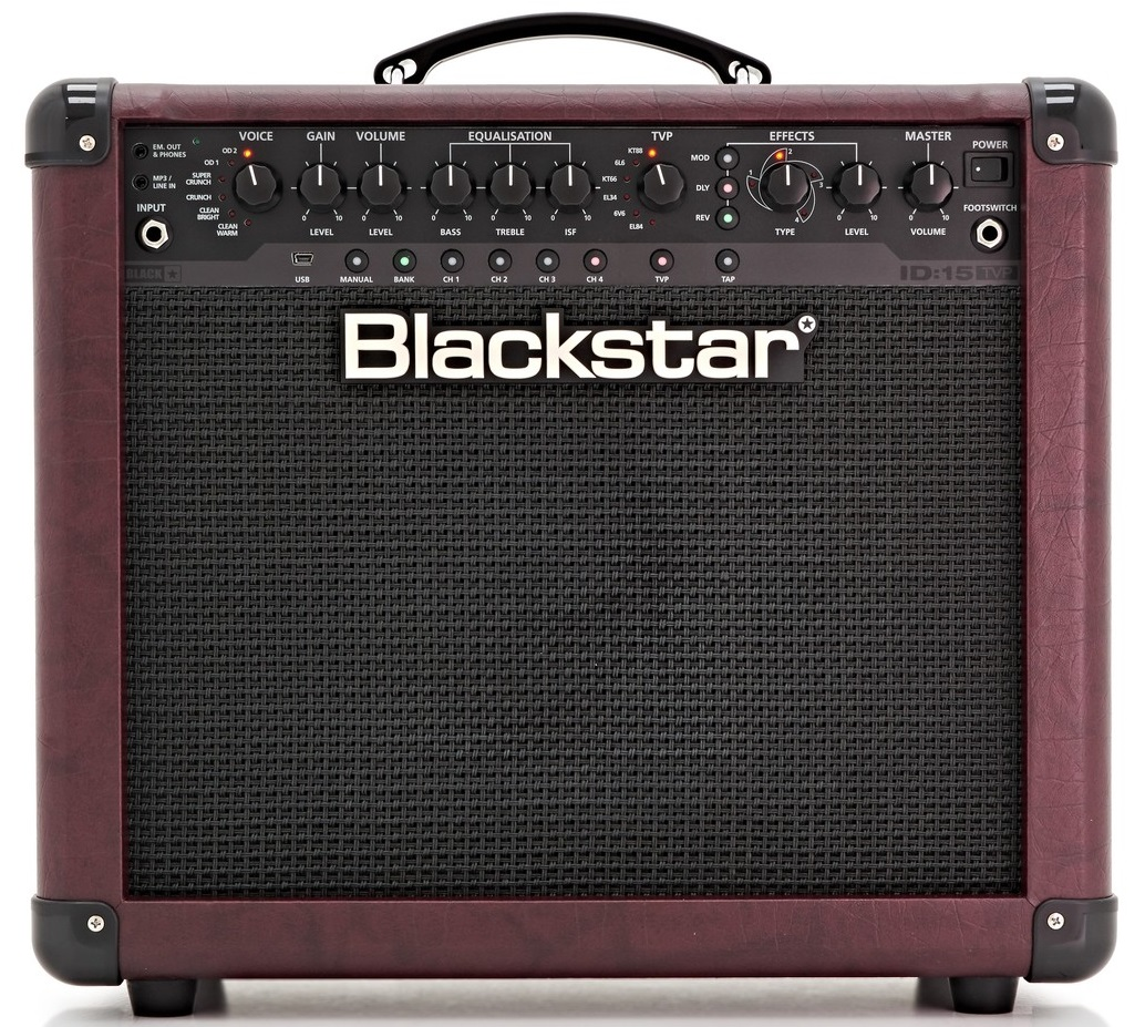 Blackstar ID:15 TVP Artisan Red Limited Edition