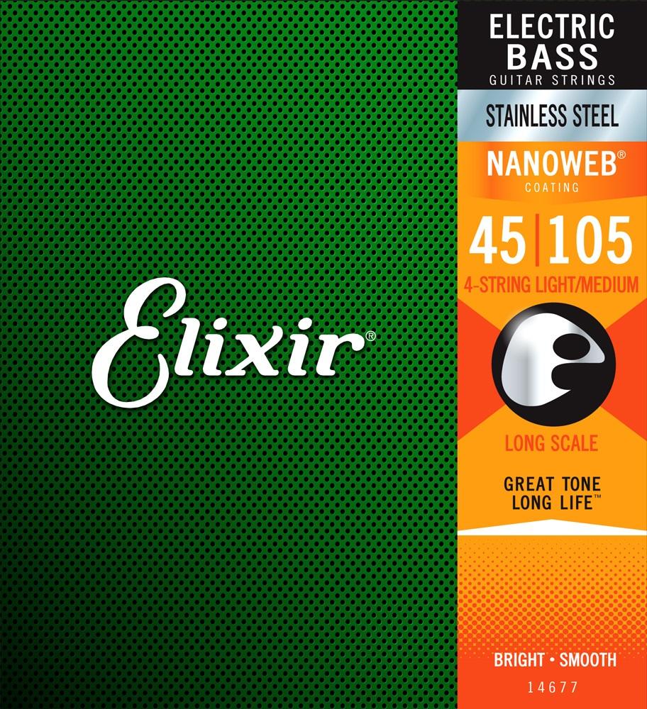 Elixir 14677 Light/Medium, Long Scale