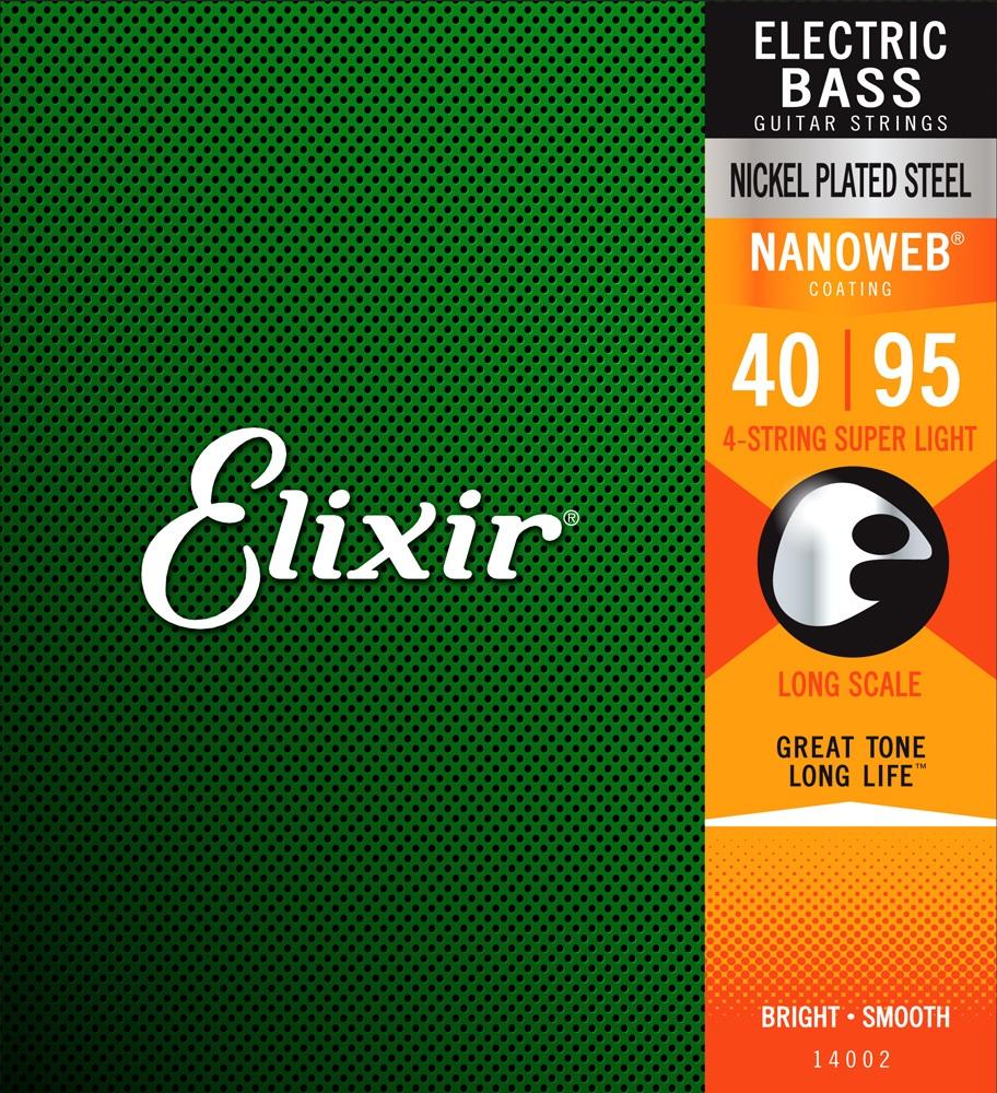 Elixir 14002 Super Light, Long Scale