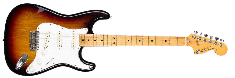 Fernandes 1977 Stone logo Stratocaster