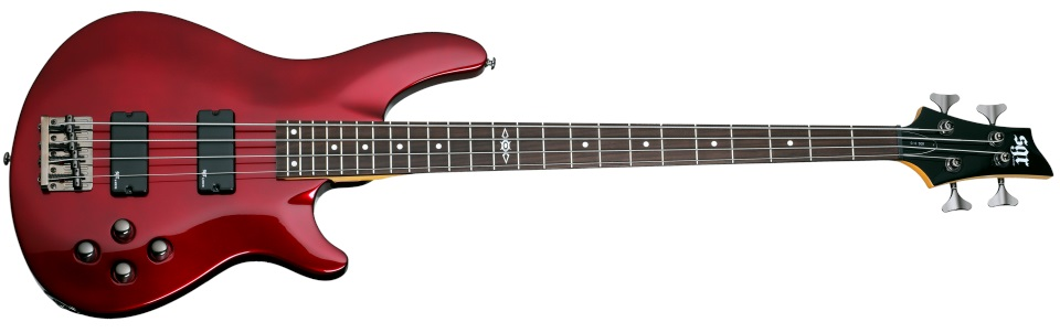 Schecter SGR C-4 Metallic Red