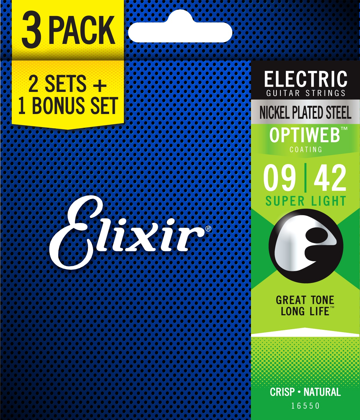 Elixir Optiweb Super Light 3-Pack