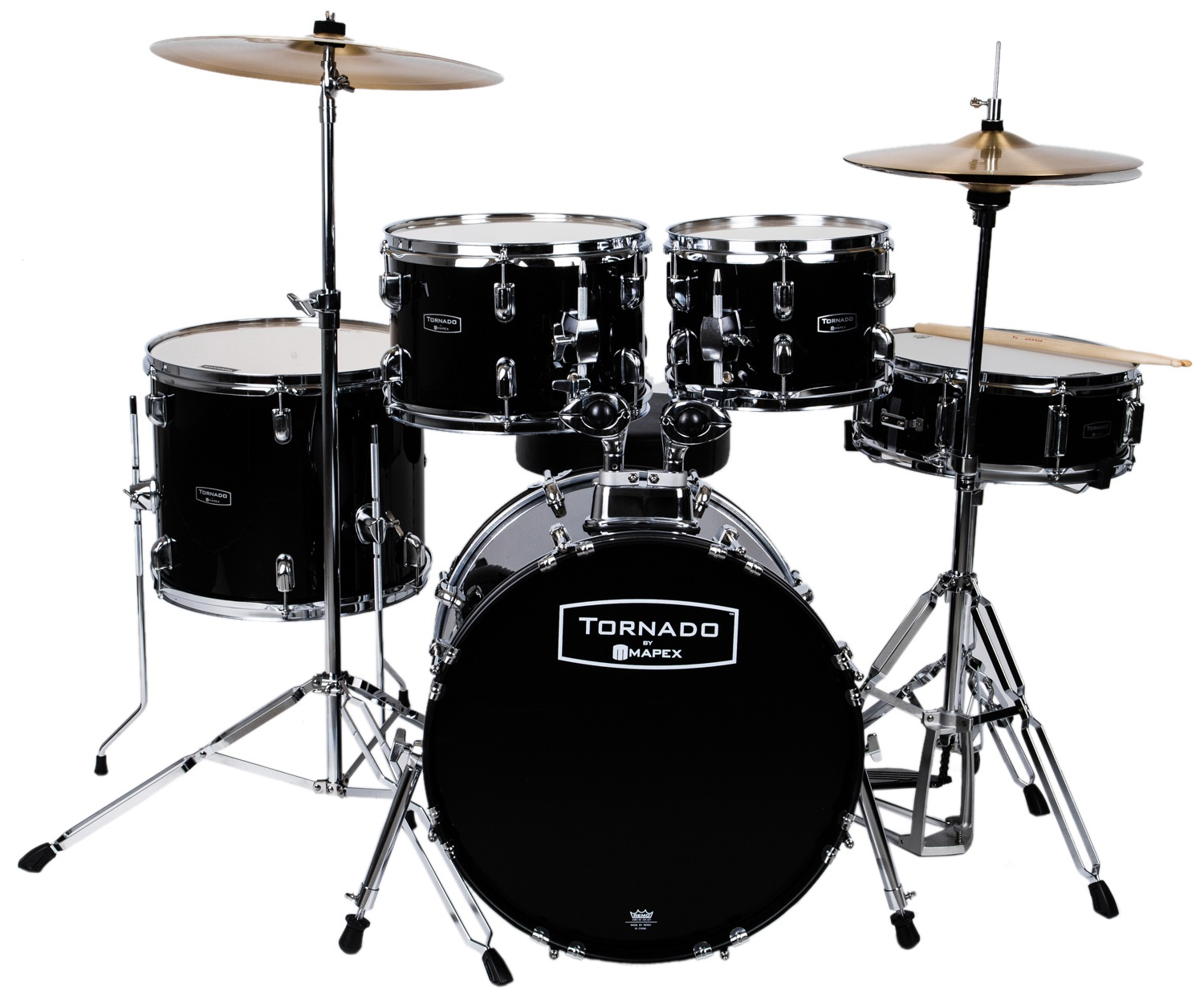 Tornado Junior Set Dark black