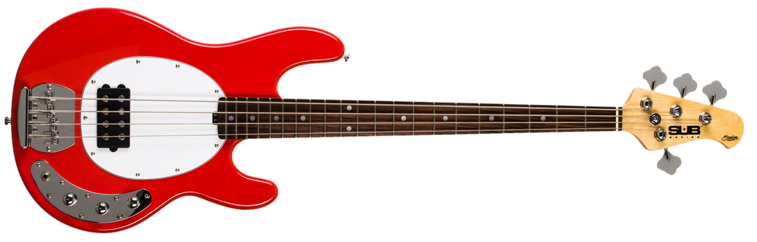 Sterling by Music Man SUB Ray4 Fiesta Red