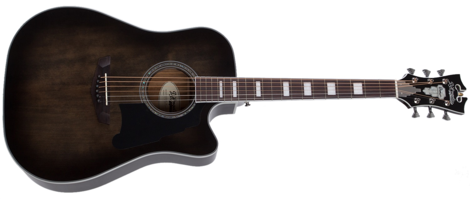 D'Angelico Premier Bowery Grey Black