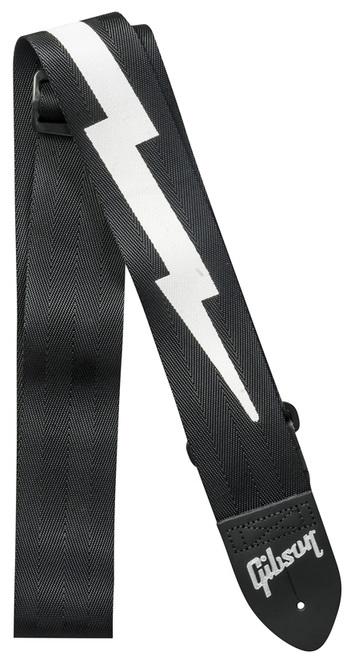 Gibson The Lightning Bolt Seatbelt Black Strap