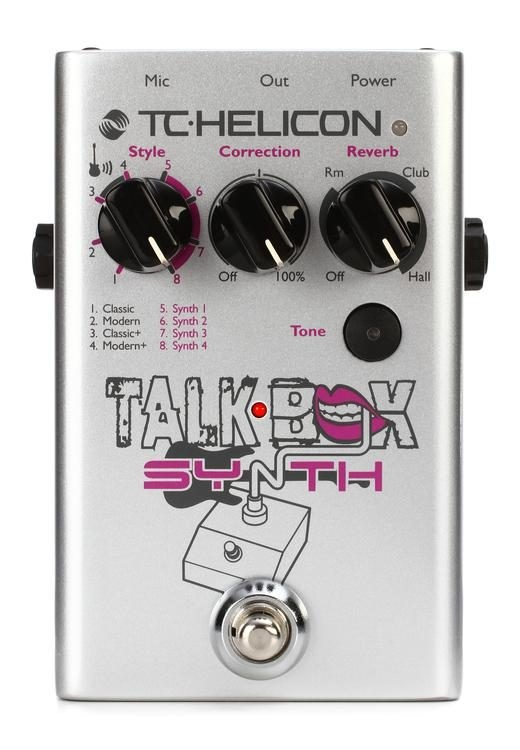 Fotografie tc-helicon Talkbox Synth