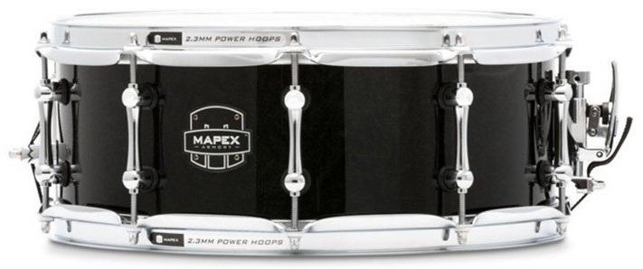 """Fotografie Mapex 14"""" x 5,5"""" Armory Sabre Transparent Black"""