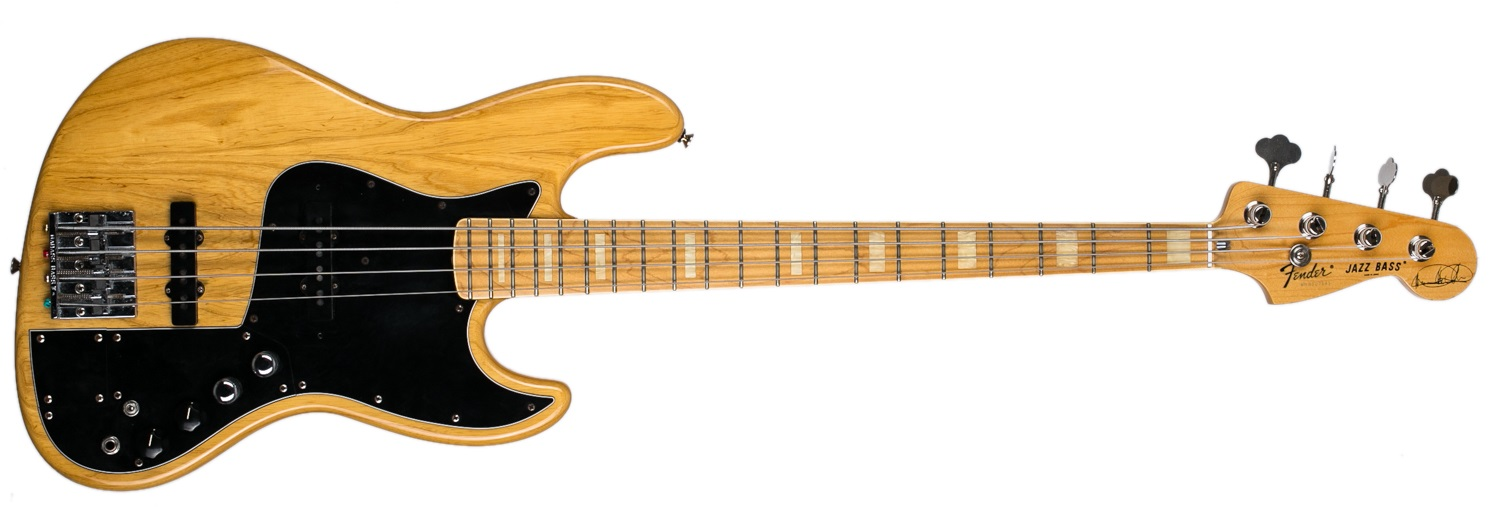Fender 1999 Jazz Bass Marcus Miller 4 Japan