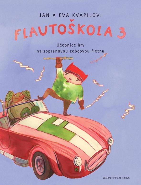 KN Flautoškola 3 - Učebnice hry na sopránovou zobcovou flétnu
