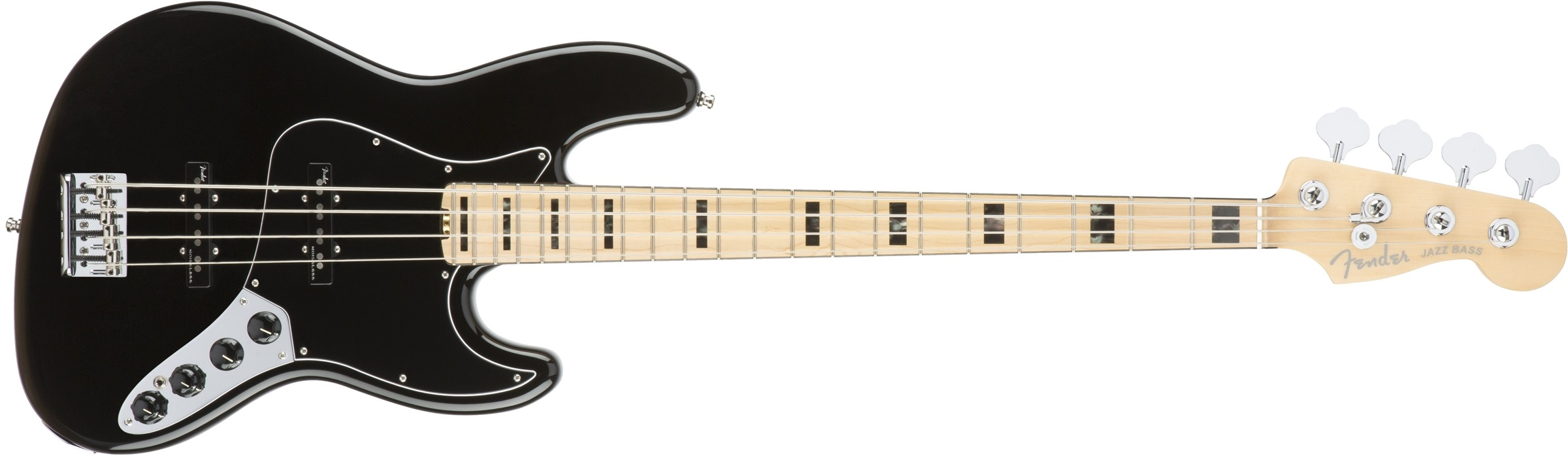 Fender American Elite Jazz Bass MN BLK