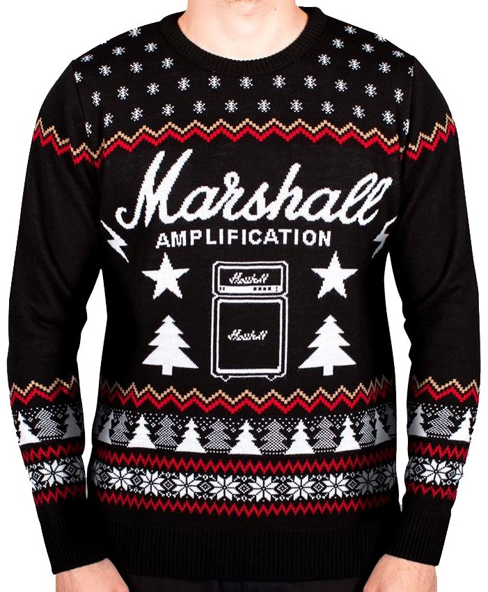 Marshall Christmas Jumper L