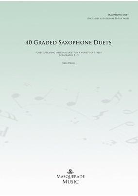 Fotografie KN 40 Graded Saxophone Duets