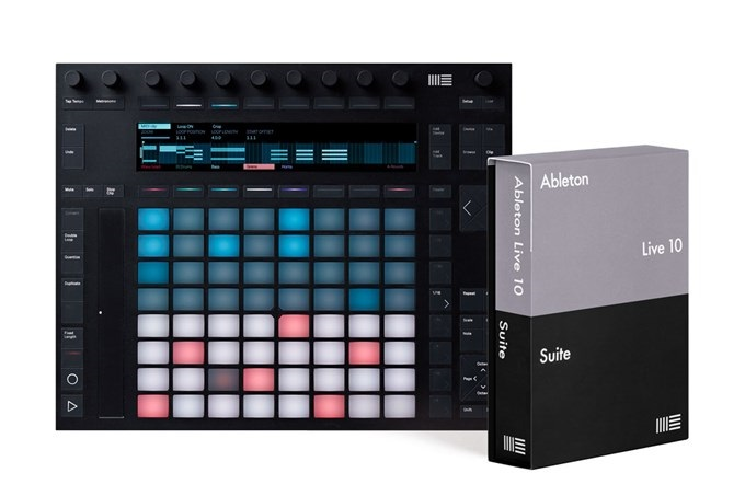 Ableton PUSH 2 + ABLETON SUITE 10