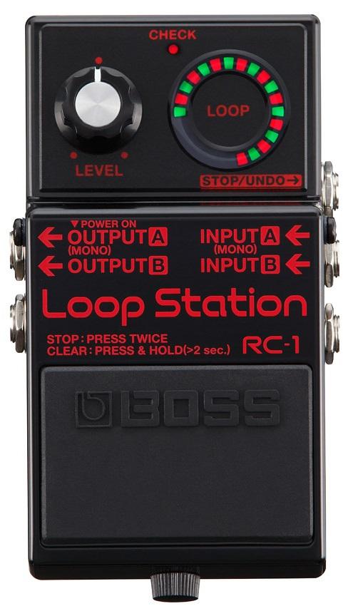 Boss RC-1 BK