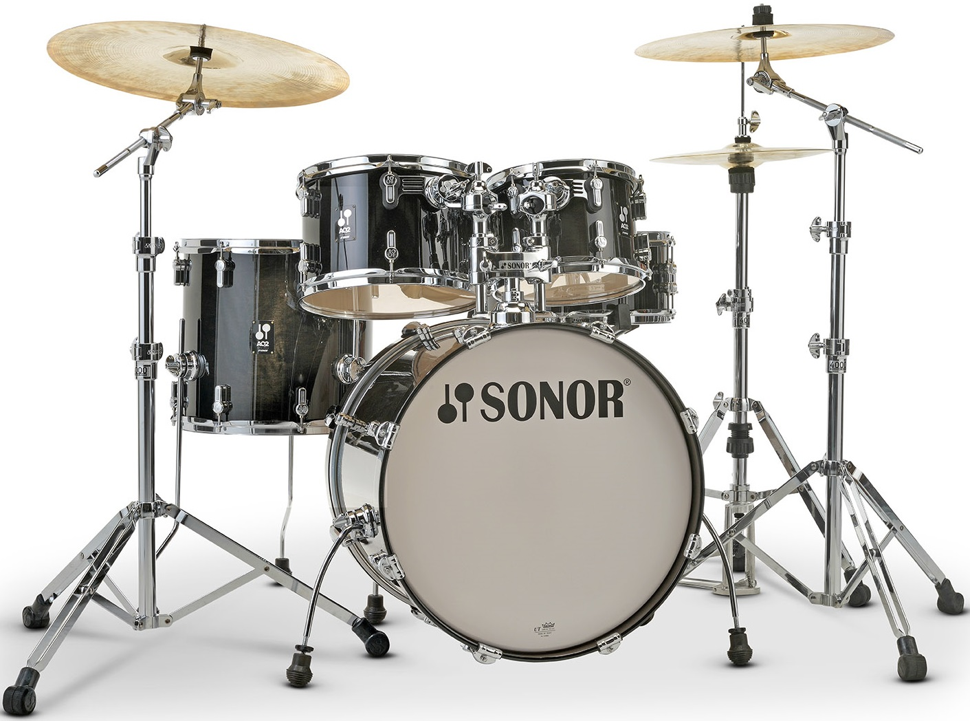 Sonor AQ 2 Studio Set Transparent Black