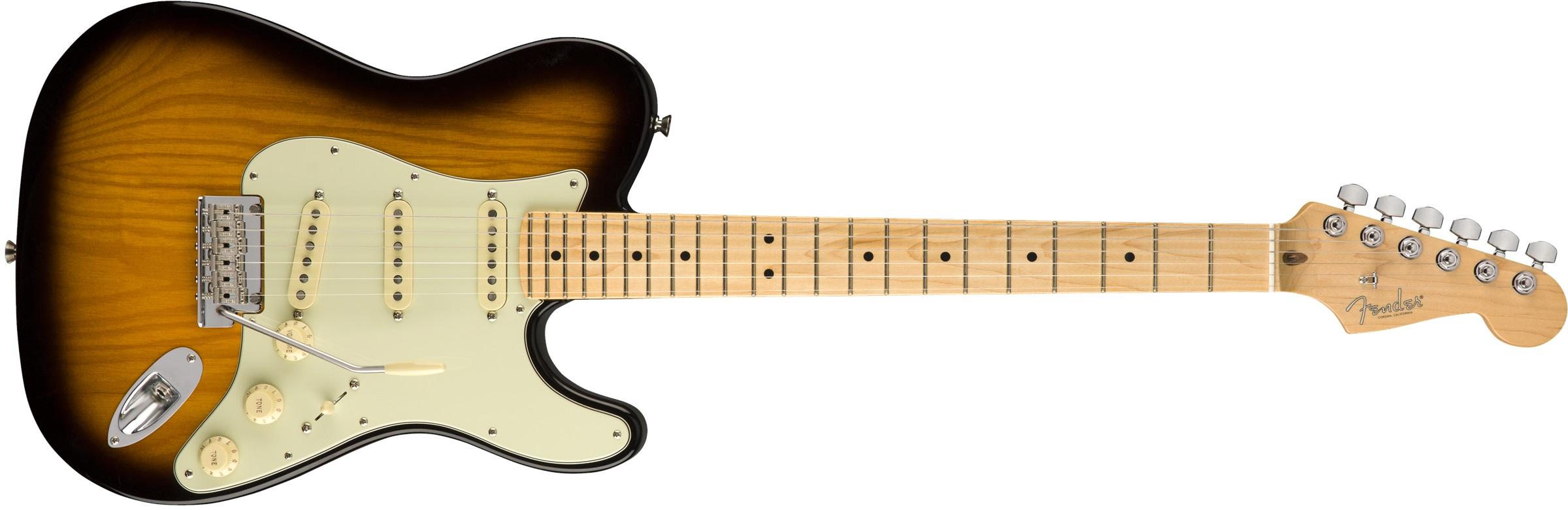 Fender Strat Tele Hybrid MN 2TSB