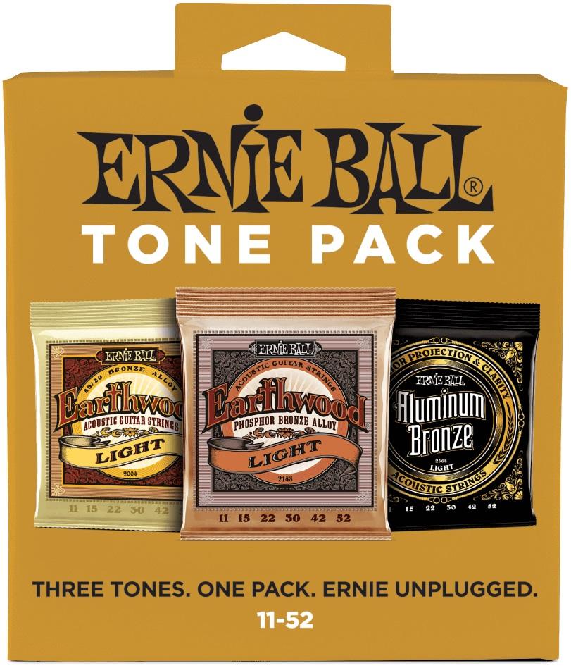 Ernie Ball Acoustic Tone Pack Light
