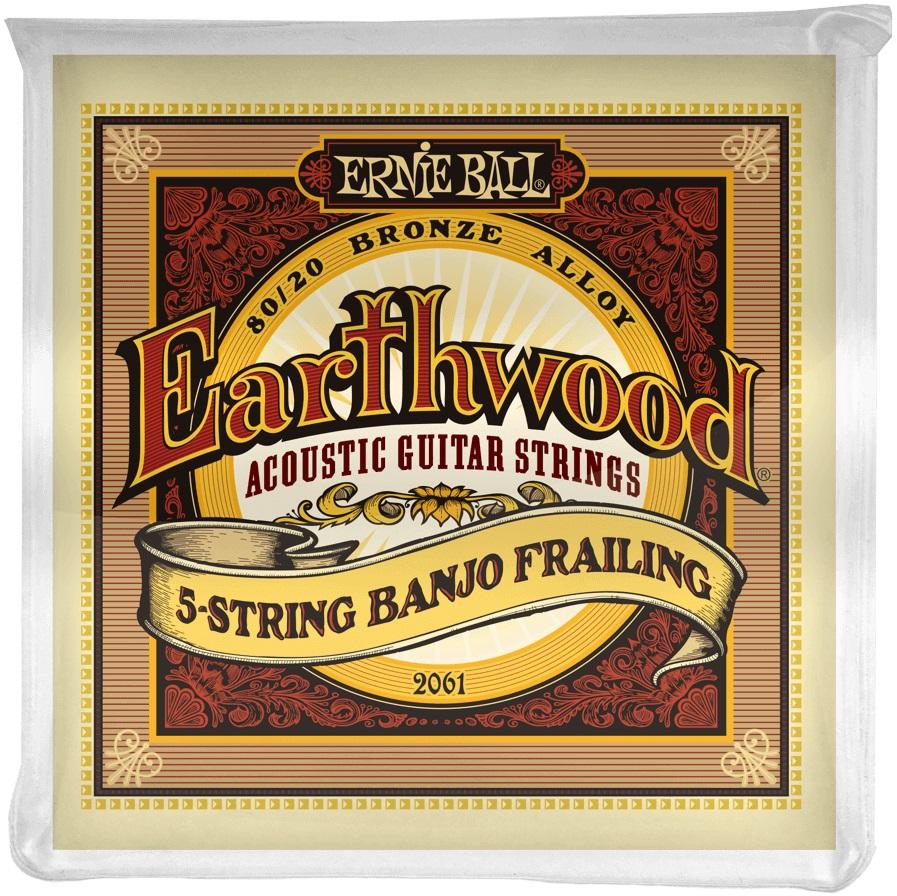 Ernie Ball Earthwood 80/20 Bronze Banjo Frailing