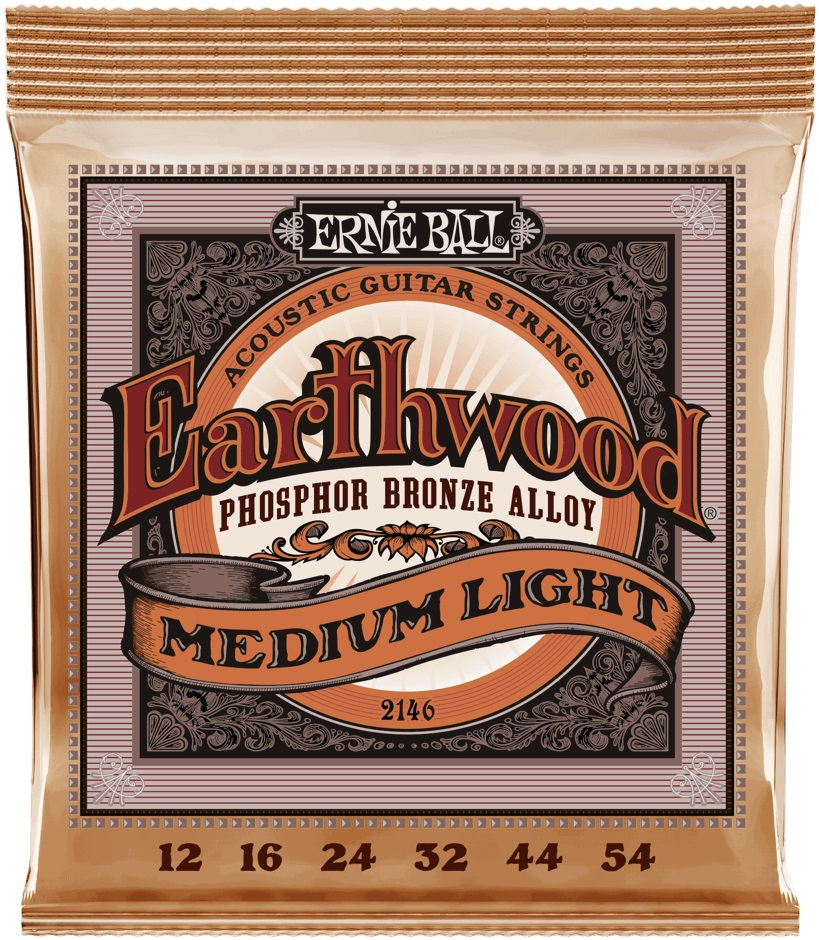 Ernie Ball Earthwood Phosphor Bronze Medium-Light