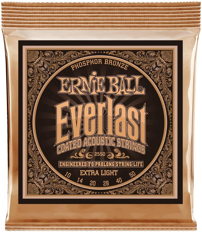 Ernie Ball Everlast Phosphor Bronze Extra Light