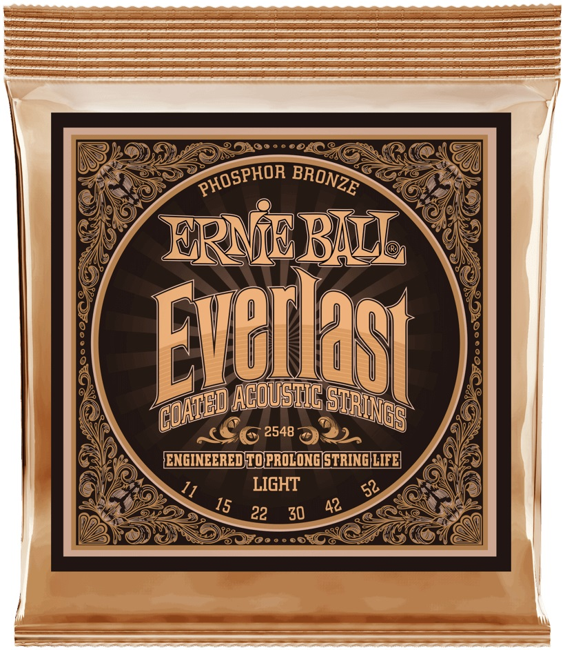 Ernie Ball Everlast Phosphor Bronze Light